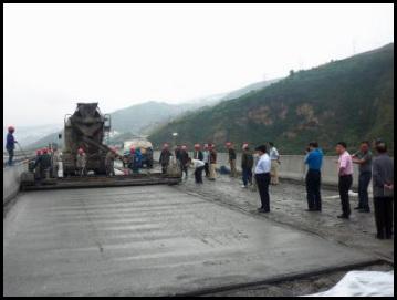 混凝土桥面加固维修体系