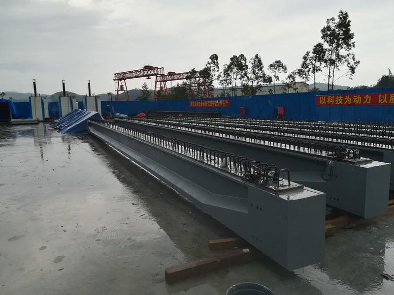 title='中国首座无筋预应力体系UHPC桥梁(16m)——广州北环高速扩建F匝道桥(2018年)'